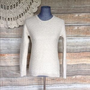 Ann Taylor Chunky Knit Wool Blend Sweater